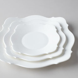 Jasper Conran for Wedgwood Baroque White Dinner Plate