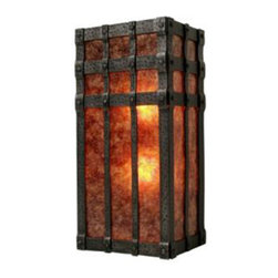 Steel Partners Inc - Sconce - OPEN SAN CARLOS - Every piece we create is unique — handcrafted at our factory in Chehalis, Washington, USA. Due to this, lead times are 2 to 4 weeks.