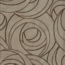 Loloi Grant Beige Area Rug - The timeless Charles Rennie Mackintosh-style rose pattern and subtle coloring would make this rug just as at home in a traditional room as a contemporary one.