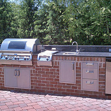 Traditional Grills by NYC Fireplaces and Outdoor Kitchens