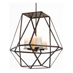 GEM HANGING LIGHT by Kevin Reilly for Holly Hunt - SIZE 1