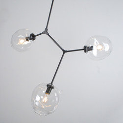 Lindsey Adelman BB.03.01 Chandelier - If you haven't noticed already, Ms. Adelman is making quite the stir in the design world  — particularly for her bubble pendants, and it's obvious to see why. I think that this three light piece is in perfect balance, grabbing everyone's attention without going overboard.