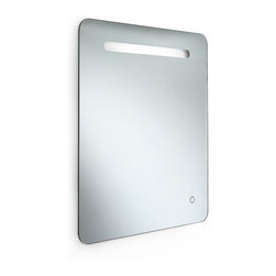 "WS Bath Collections - Speci 56703 -Wall Mirror with Built in LED Light 27.6"" x 31.5"" - Speci 56703 -Wall mirror with Built in LED Light"