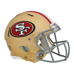 Brewster Home Fashions - NFL San Francisco 49ers Teammate Helmet 3pc Sticker Set - FEATURES: