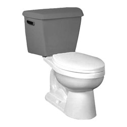 """Crane - Crane US31202 - EL Manhattan bowl - This elongated toilet bowl features a 3"""" flush valve, a 1.6 GPF flow rate, a 12"""" Rough-in, and a vitreous china construction for a long-lasting durability. This model is individually flush tested, and comes in a beautiful, Biscuit finish."""
