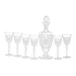 Waterford Crystal - Waterford Crystal Regency Claret Set 6 Glasses 159437 - Waterford Regency Claret Set 6 Glasses  -  Artist: Martin Ryan  -  Don't Buy From An Unauthorized Dealer  -  Genuine Waterford Crystal  -  Fully Authorized U.S. Waterford Crystal Dealer  -  Stamped With The Waterford Seahorse Symbol Of Excellence  -  Waterford Crystal UPC Number: 024258514010