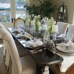 Finishing Touches- Junior League of Palo Alto-Mid Peninsula Holiday House Tour