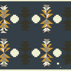 Eclectic Rugs by domestic construction