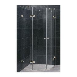 Vigo Industries - Vigo Frameless Neo-Round Clear Glass Shower Enclosure - Vigo designs easy-to-install shower enclosures to enhance any bathroom and suit your needs.