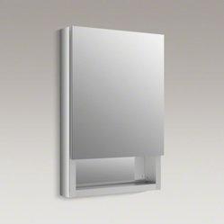 Kohler Kohler Verdera Tm 20 Quot W X 30 Quot H Aluminum Medicine Cabinet With Adjustable Magni The