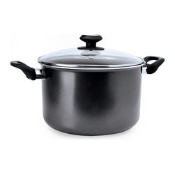 EPOCA - Elements 8 Qt. Stock Pot - Grey - Ecolution Element 8 QT Stock Pot Grey