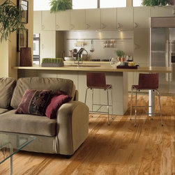 Hickory Engineered Floor -