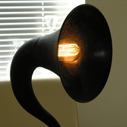 Speakerphone Vintage Light - The speakerphone light is a shape that's impossible to ignore.