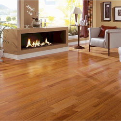 Triangulo Exotic Flooring - ENGINEERED HARDWOOD FLOORING - BRAZILIAN CHERRY (JATOBÁ) - (ENGBC51/4)