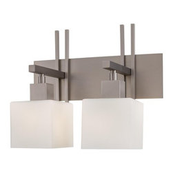 """Kovacs - Kovacs GK P5922 2 Light 16"""" Bathroom Vanity Light Torii Collection - Two Light 16"""" Bathroom Vanity Light from the Torii CollectionFeatures:"""
