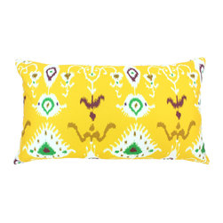 "DD - Tribal Ikat Outdoor Pillow 24"" x 14"" - This lovely Tribal Ikat Outdoor Pillow will add fun and flare to your outdoor space."