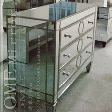 Traditional Nightstands And Bedside Tables Decorative mirror furniture from Rongjing Glass