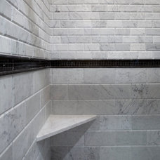 Traditional Bathroom by Best Plumbing Tile & Stone