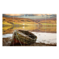 Picture-Tiles, LLC - Boat Ship Photo Wall Back Splash Tile Mural  12.75 x 21.25 - * Boat Ship Photo Wall Back Splash Tile Mural 1230