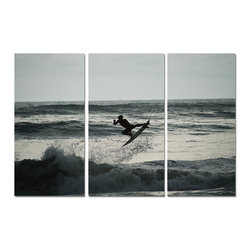 "Ready2HangArt - Ready2hangart Nicola Lugo (3-PC) Canvas Wall Art Set - Renowned Surf Photographer Nicola Lugo, takes you behind the lens of his travels worldwide. This photograph is offered as part of a limited ""Home Decor"" line, being the perfect addition to any living or work space."