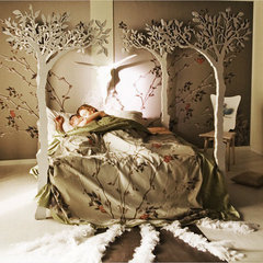 Under the apple tree canopy bed Modern romantic by lummedesigns