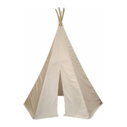 Great Plains Tepee - A tipi pretty much injects an instant sprinkle of magic into a play space for little ones. This simple one is just asking me to buy it.