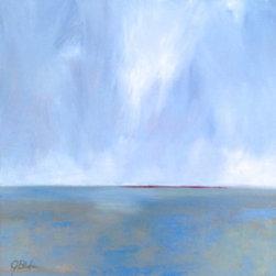 Atmosphere, Artwork - Oil painting on panel by Janet Bludau