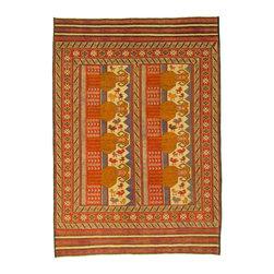eSaleRugs - 6' 9 x 9' 8 Pictorial Sumak Rug - SKU: 22139290 - Hand Woven Pictorial Sumak rug. Made of 100% Wool. Brand New.