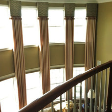Contemporary Curtains by Designworks Interiors, LLC