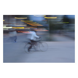 Bike Ride, Limited Edition, Photograph - African commuter in Eritrea