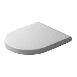 Duravit - Duravit Starck 3 Elongated Toilet Seat and Cover, Alpine White (0063890000) - Duravit 0063890000 Starck 3 Elongated Toilet Seat and Cover, Alpine White