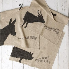 Eclectic Dish Towels by Sundance Catalog