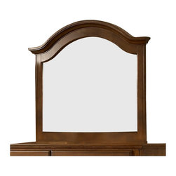 Broyhill - Broyhill Hayden Place Arched Dresser Mirror in Light Cherry - Broyhill - Mirrors - 4648237 - About This Product: