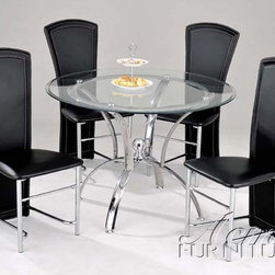 Acme Furniture - Manteca 5 Piece Dining Set - 12116-5set - Includes Table and 4 Side Chairs