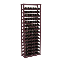 Wine Racks America - Baker Style Wine Rack Kit in Pine, Burgundy - Practical and sincere, this wine rack kit is a subtle and beautiful addition to your wine cellar. Modeled after old-fashioned Bakers' Bread Racks, this rock solid kit will withstand extensive use. That's a guarantee. As a freestanding solution or included with a complete wine cellar, you'll love this rack.