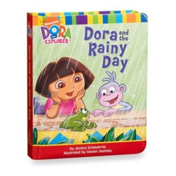Nickelodeon - Dora and the Rainy Day Book - Join Dora the Explorer on a rainy day as she explores the indoors. Always up for adventure, Dora finds plenty to do with her family despite la lluvia.