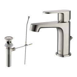 RIVUSS - RIVUSS Brisbane FBS-200 - Lead-Free Solid Brass Single-lever Bathroom Faucet - RIVUSS Brisbane FBS-200