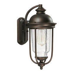 Capital Lighting - Capital Lighting 9581OB York 1 Light Outdoor Wall Sconce - Beginning with design concepts from popular home fashions, they transform their ideas into lighting fixtures that blend timeless beauty with today's styling.