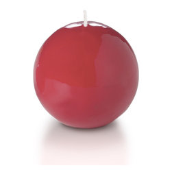 """Neo-Image Candlelight Ltd - Set of 12 - Yummi Gloss Sphere Ball Candles - 16 Colors, Red, 2.8 - Our unscented 2.8"""" High Gloss Sphere Candles are ideal when creating a beautiful candlelight arrangement for the home or wedding decor.  Available in 7 trendy High Gloss candle colors hand over dipped with white core to match and compliment your home decor or wedding centerpiece decoration."""