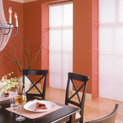 """BlindSaver Advantage 3"""" Light Filtering Window Shadings - Both formal and casual, beautiful and functional, the BlindSaver Vienna shades are perfect for any room in your house. The Vienna is comprised of fabric semi-opaque vanes between two sheers and is operated by a standard continuous cord loop system. You will enjoy the versatility of a horizontal blind with the beauty and simplicity of a fabric shade."""