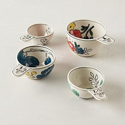 Molly Hatch - Garden Sketch Measuring Cups - An Anthropologie exclusive by Molly HatchStonewareDishwasher and microwave safeImported