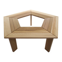 All Things Cedar - All Things Cedar TB50U - 5 sided Tree Bench - Our 5 sided tree bench is the ideal addition for any yard or garden. Casual seating for around the yard or as a subtle focal point in your garden area. - also available as a 6 sided bench    Dimensions:   52 x 52 x 18 in. (w x d x h)
