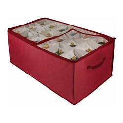 Ricahrds Homwares - Christmas Ornament Storage 54 Cell - No more boxes or cheap storage bags. Richards Homewares line of Christmas storage products are sure to make organizing your Christmas related items much more convenient!