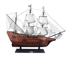 "Handcrafted Model Ships - Mayflower 30"" - Wooden Model Ship - Sold fully assembled"