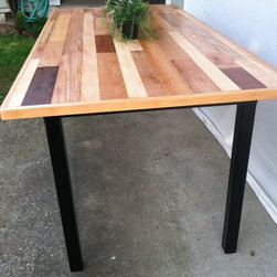 Reclaimed Hardwood Flooring Tables -
