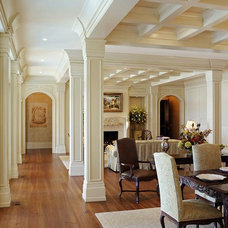 Traditional Living Room by Wayne Windham Architect, P.A.
