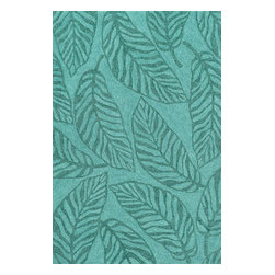 "Loloi - Indoor/Outdoor Tropez 2'3""x3'9"" Rectangle Aqua Area Rug - The Tropez area rug Collection offers an affordable assortment of Indoor/Outdoor stylings. Tropez features a blend of natural Aqua color. Handmade of Polypropylene the Tropez Collection is an intriguing compliment to any decor."