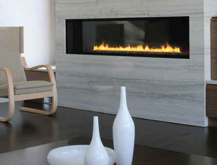 Modern Indoor Fireplaces Spark Modern 6 Foot Direct Vent Gas Fireplace