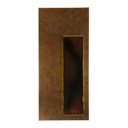 "Meyda Lighting - Meyda Lighting 129564 18""W Piastra Right Led Wall Sconce - Meyda Lighting 129564 18""W Piastra Right LED Wall Sconce"