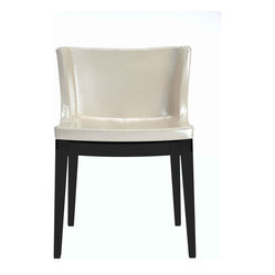 Kartell - Mademoiselle Chair in Crocodile Print